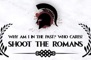 Ludum Dare #36 – Why Am I In The Past? Who Cares! Shoot The Romans.