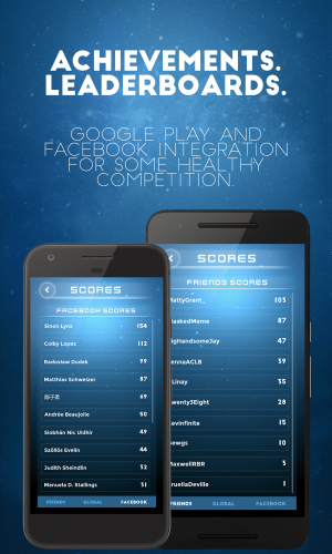 Tubocity – Get Your Ship Together – Google Play Games and Facebook Scoreboards – Play with your friends