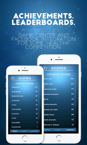 Tubocity – Get Your Ship Together – Apple Game Center and Facebook Scoreboards – Play with your friends